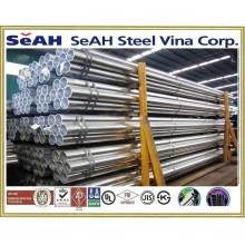"""8 """"gerilltes schwarzes Stahlrohr nach AS, BS, JIS, DIN, ASTM, ERW Stahlrohr, geschweißte Stahlrohre, verzinkte Stahlrohre"""