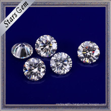 Vvs Clear White 6mm Forever Brilliant Moissanite for Luxury Jewelry