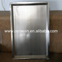 Super mirror finish stainless steel sheet tray