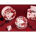 Caixa de papel redonda para embalagem de roupas íntimas