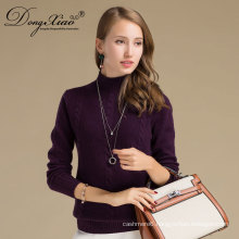 2017 Alibaba China Stylish Pullover Women Woolen Cashmeresweater For Sale