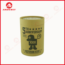 China Gold Supplier for T-Shirt Round Packaging Customized T-shirt Packaging Paper Tube Cylinder Box export to Indonesia Importers