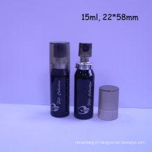 Flacon de 15ml avec de l'aluminium de bidon en aluminium