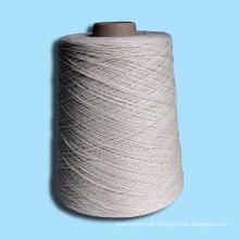tingimento de poliéster com dentes DTY tapete de fios de algodão tingido de poliéster