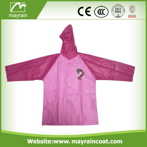 Children PVC Raincoat