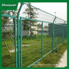 2015 самый продаваемый обрамленный забор / дешевый и высококачественный каркасный забор из проволочной сетки (профессиональное производство)