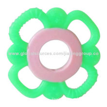 Silicone Baby Teether with Soft and Elastic, BPA-free