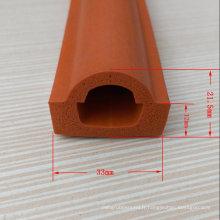 Produit de bande d'étanchéité en caoutchouc mousse silicone personnalisé