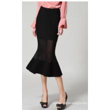 Falda al por mayor de las mujeres Falda delgada de las mujeres de la moda