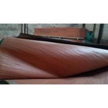 Folheado projetado barato Sapele 0.2-0.6mm, folheado Recon Sapele