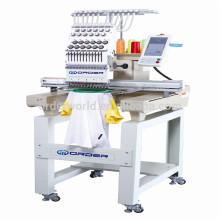 Única cabeça 12 agulhas computadorizada máquina de bordar computadorizada preço da máquina de bordar na índia