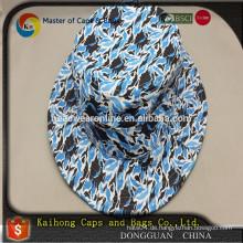 Mode-Qualität camo Eimer Hut von Hawaii gedruckten Stoff
