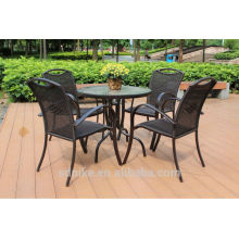 Cheapest dining room set rattan material dining table set