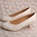 Beige+Heels+for+Women+Ivory+Lace