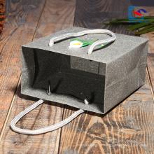бесплатный образец изготовленный на заказ миниый мешок подарка с логотипом