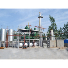 Continuous small used motor oil refinery plant Since 1998 Beston