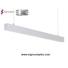 Lumière linéaire de 1.2m 0.6m 1.5m 2835SMD 24W LED avec du CE RoHS
