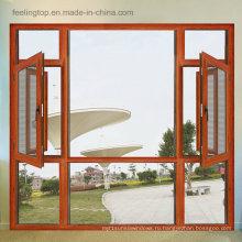 Высокое качество коммерческих алюминиевые окна (фут-W135)