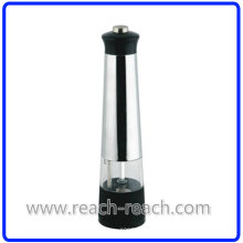 Пластиковых Электрический Соль и перец мельница кухня (R-6008)