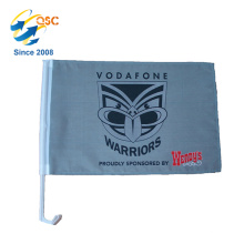 factory direct sale customized sport team car mini flags