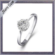 Мода стиль 18k Белое золото кольцо