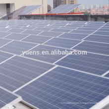 Panel solar 30KW Sistema solar con soporte de techo plano lacado