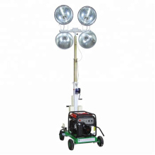 Mobile led light tower price for outdoor construction work FZMT-1000B