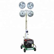 Мобильная светодиодная световая башня цена для наружных строительных работ FZMT-1000B