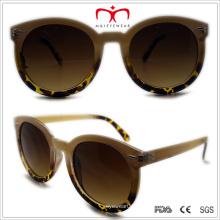 Plástico unissex rodada óculos de sol (wsp508350)
