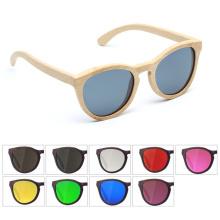 Fabricantes que vendem moda artesanal de madeira 2018 óculos de sol da marca