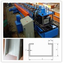 High Speed C U Stud Frame Roll Forming Machine