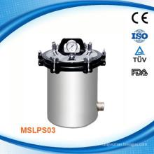 MSLPS03W Stérilisateur à vapeur d'autoclave continu à banc d'essai pharmaceutique