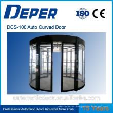 Puertas de vidrio correderas automáticas comerciales DPER