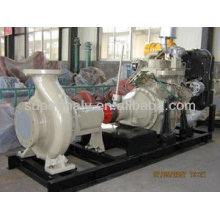 High pressure water pump powered by diesel