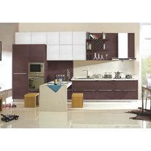 Liner Style Hochglanz Lack Finish Küchenschrank