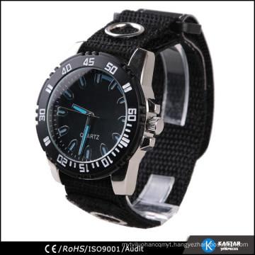 nylon band watch fashion quartz wrist watch