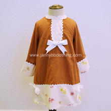 Toddler Girls Autumn Clothes Long Sleeve Dress