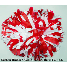 Red / White POM Poms