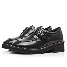 comfortable black paten leather big wide width women shoes