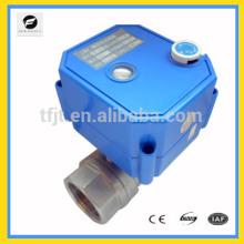 CWX-25S manejar válvula de bola de control eléctrico ajustable DC3-6V DC12V AC / DC9-24V AC220V AV85-265V para sistema de ciclo de agua