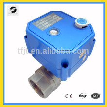 CWX-25S handle adjustable electric control ball valve DC3-6V DC12V AC/DC9-24V AC220V AV85-265V for water cycle system