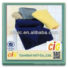100% Polyester Fleece Solid Or Printed Soft Polar Fleece Blankets