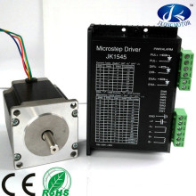D-shaft & round shaft NEMA23 NEMA24 stepper motor with Driver