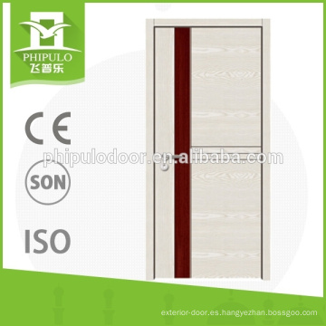 Puerta de madera de la venta caliente del dormitorio de la melamina de la puerta 2015