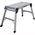 Big Folding Two Step Aluminium Work Platform ladder