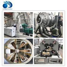 Ligne d'extrusion de machine de tuyau en plastique de PVC PP PE faisant la ligne