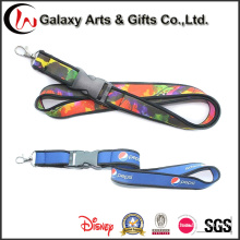 Cheap High Quality Custom Pesi Special Neoprene Heat Transferred Lanyards with Two Layers