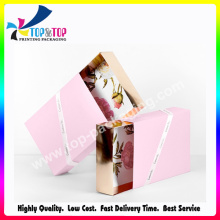 Taille personnalisée Recyclé Coated Paper Wedding Card Box