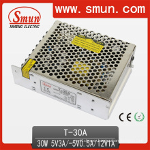 30W/50W/60W/120W Triple Output Switching Power Supply (SMPS) with CE RoHS 2 Year Warranty