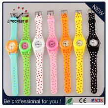 Новый стиль наручные часы силиконовые часы кварцевые часы для Kid Watch (DC-SZ152)